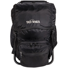Tatonka silla de pesca Mochila, black